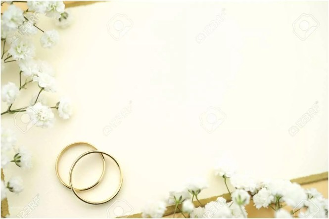 Wedding Invitation Background Blank