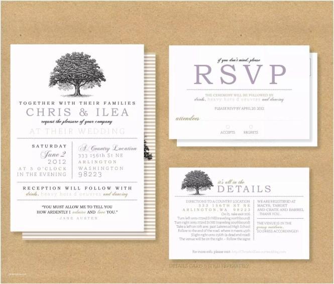 Wedding Invitation Rsvp