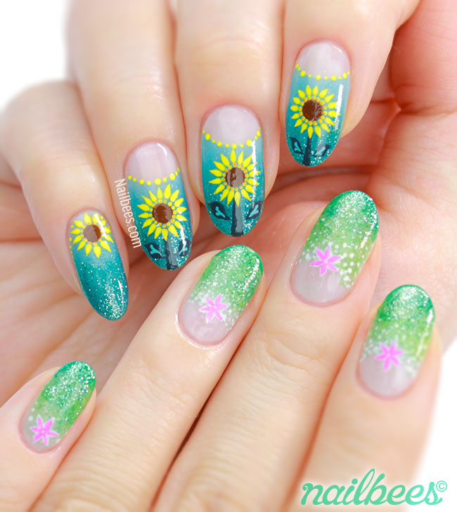 Nail Art Frozen Elsa Ideas