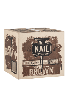 Nail Imperial Brown Cube