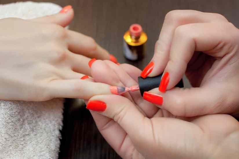nail drying process