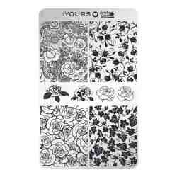 YOURS Stamping Plates Rosa 8719324059060
