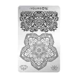 YOURS Stamping Plates Mindful Mandala 8719324059299