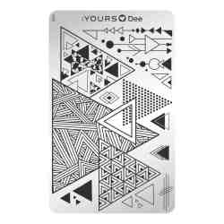 YOURS Stamping Plates Triangle 8719324059879