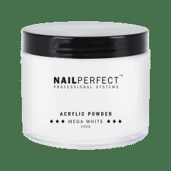 NailPerfect Acryl Poeder Mega White 100gr.(1299851015)
