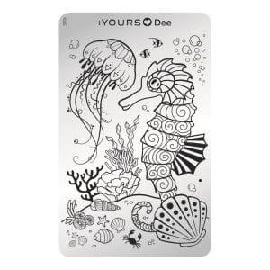 YOURS Stamping Deep Ocean
