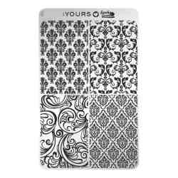 YOURS Stamping Plates Is the bar okay 8719324059558