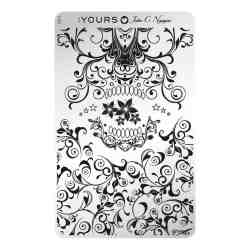 YOURS Stamping Plates Skulligree 8719324059664