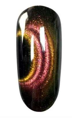 Korneliya 6D Cateye Gel RED/GOLD 12ml