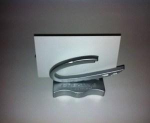 Creative Nail Design C Business card holder - Metal