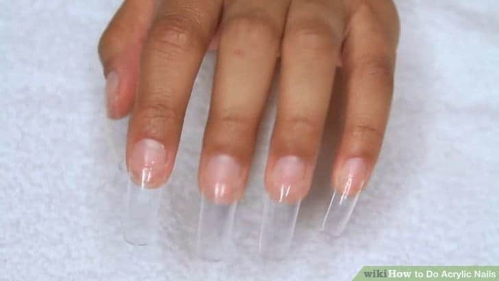 Apply The Glue On Your First Nail When Applying Them Directly Don T All Way Down To Bed Do It As Picture Above Is Showing