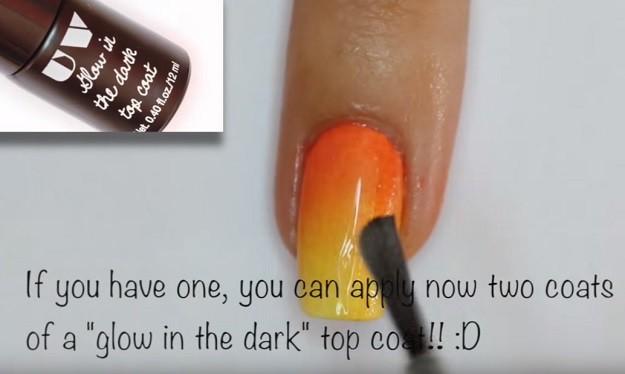 Glow In The Dark Nail Art Tutorial