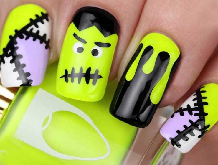 10 Creative But Easy Nails Designs You Can Copy