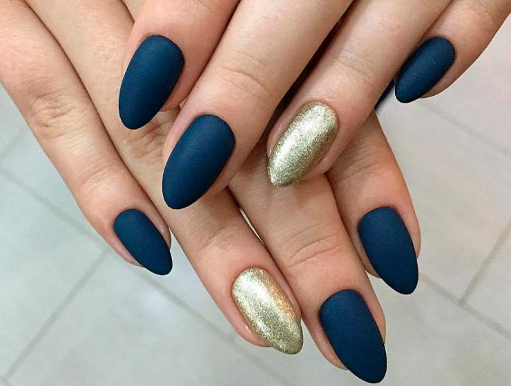 21 Matte Nails In Trendy Colors Of Fall Winter 2017 2018