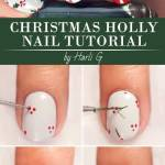 30 Christmas Nail Art Tutorials To Master Naildesignsjournal Com