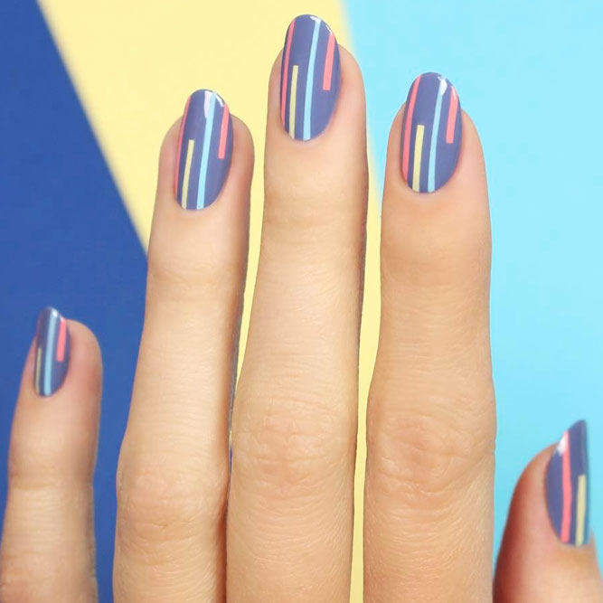 Fancy nails best ideas for win win manicures crazyforus easy nail art designs using stripes prinsesfo Image collections