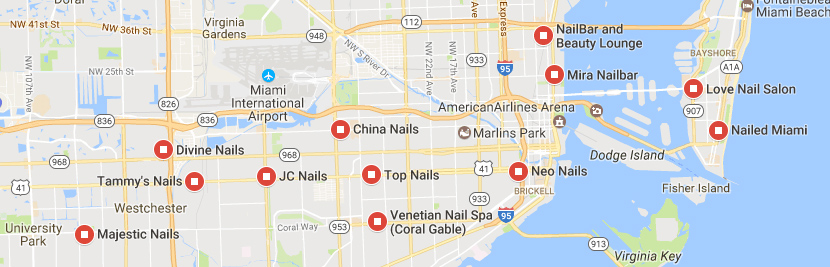 Nearby Nail Salons