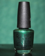 OPI Skip the Gift Wrap has been a favorite all year, mainly because I support Pantone's Color of the Years, and this year's color is Emerald.