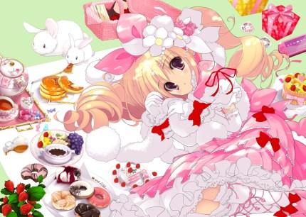 I love this lolita drawing! Its so cute!
