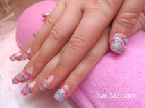 My clients Fairy kei nails!