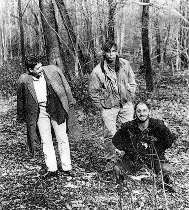 A. Animal Circa 1990. L to R; Neil Alexander, Conrad De La Cruz, Lou Magliente