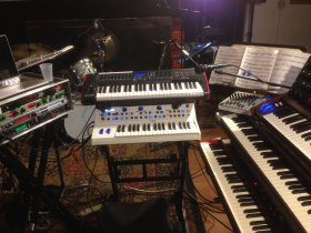 Mr Gone Keyboard rig
