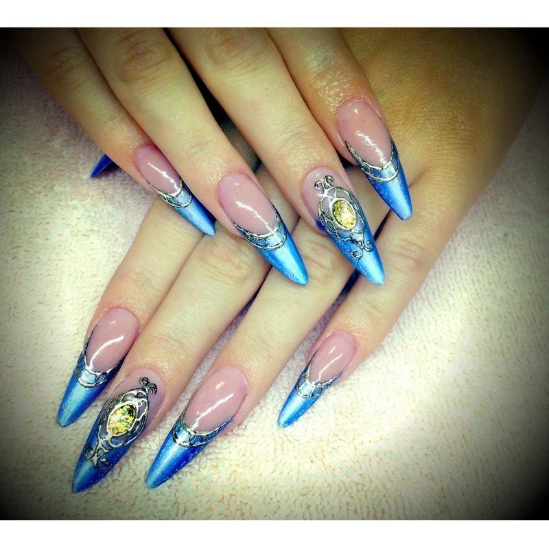 Cinderella Nails Nail Art By Russian Princess Nailpolis