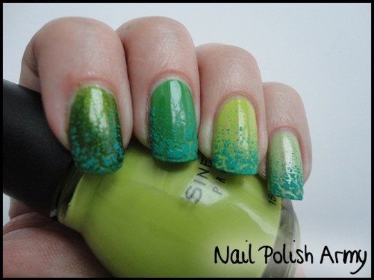 Nail-art-verde-san-patrizio-irlanda