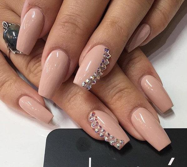 стразы на ногтях дизайн 6