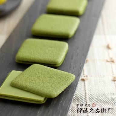 京都宇治の老舗お茶屋さん伊藤久右衛門の抹茶クッキー