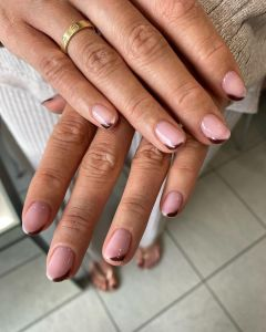 Natural Nails Color Gel Manicure Ideas