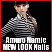 Jpop Nail Art | Amuro Namie 'NEW LOOK' Inspired Nails