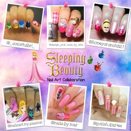 Sleeping Beauty Collage