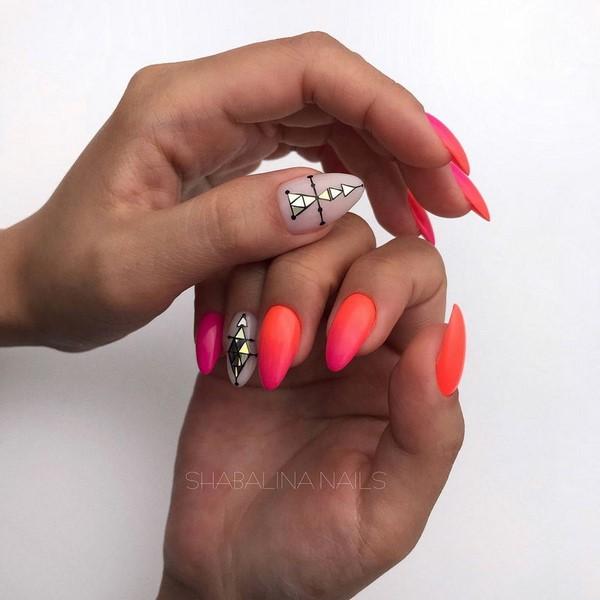 ногти дизайн фото яркие 5