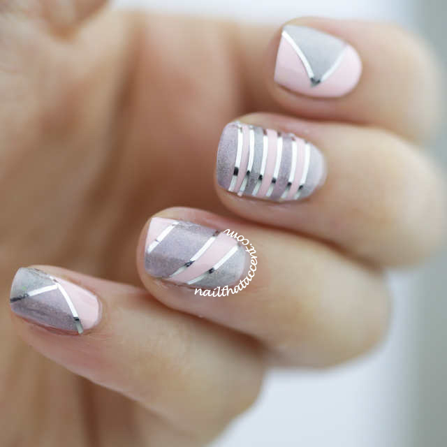 Holographic Nails Nail Art Ncla Holos Tape