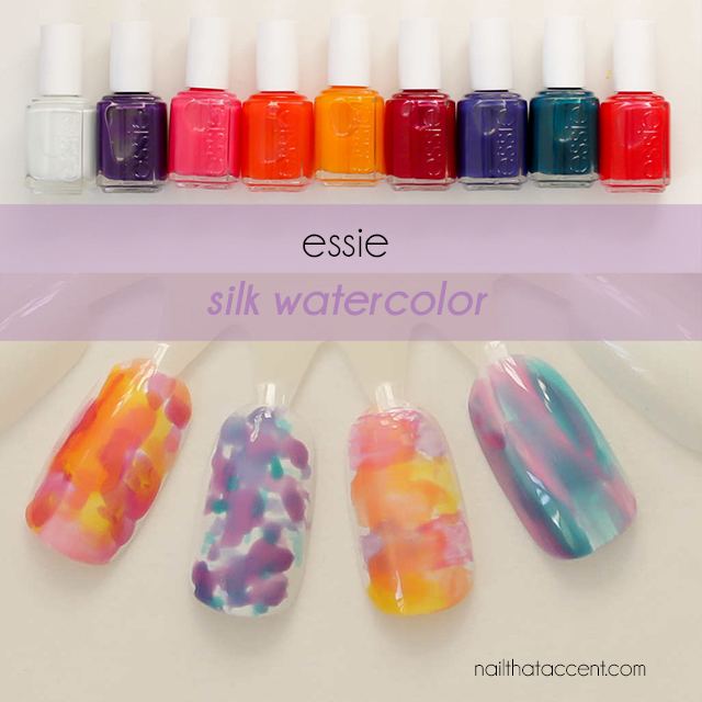 The More Polish You Wipe Off Essie Silk Watercolor Collection