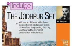Hindustan Times Brunch Indulge Magazine Newspaper Jodhpur Royal Salute Photographer Naina.co Story Double Spread
