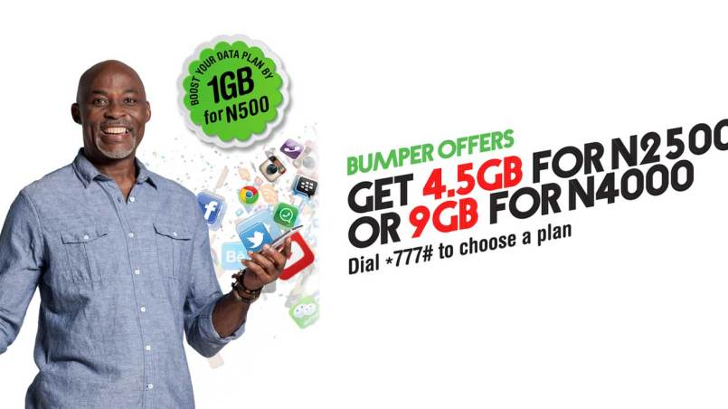 glo 1gb for N500