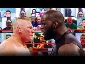 Jordan Omogbehin Vs Brock Lesnar