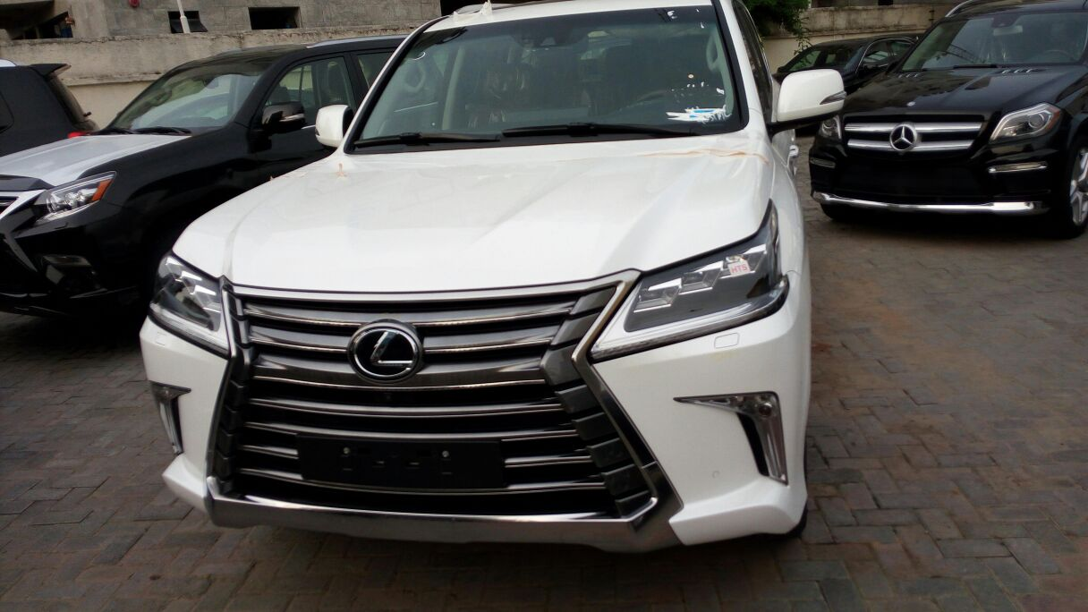 Brand New Lexus LX570 2016 Latest @just #47m