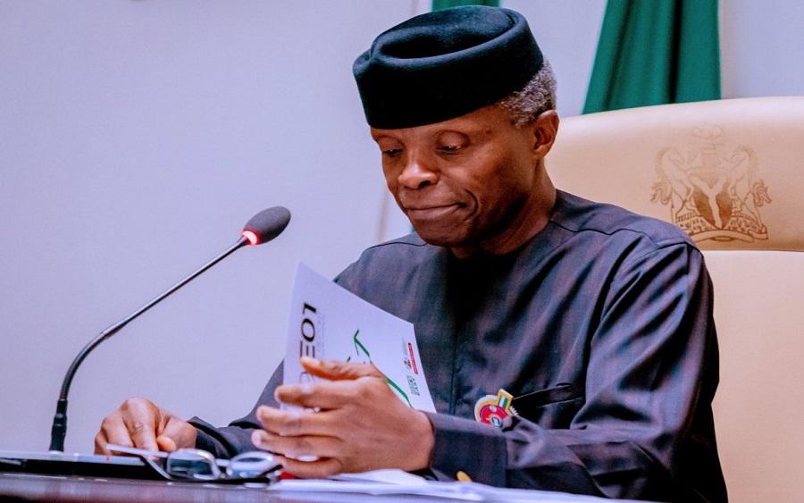 Osinbajosuggests CBN should float exchange rate – Nairametrics