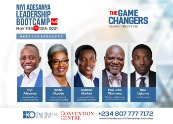 Niyi Adesanya holds annual Leadership Bootcamp at The Convention Centre, Eko Hotel and Suites