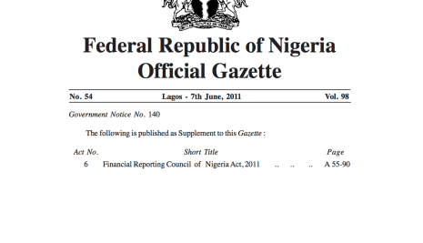 DRACONIAN LAW?? EVERY PROFESSIONAL IN NIGERIA MUST REGISTER WITH THE FINANCIAL REPORTING COUNCIL