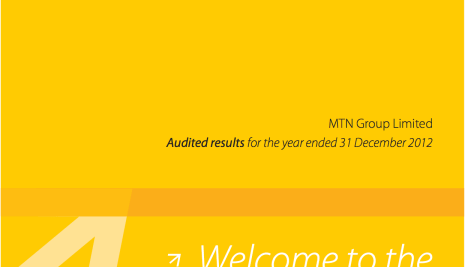 MTN Post N2tr Revenue For 2013 With Nigeria Contributing The Most At 35%