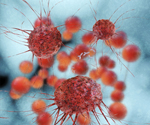 Cancer cells - 3d rendered illustration