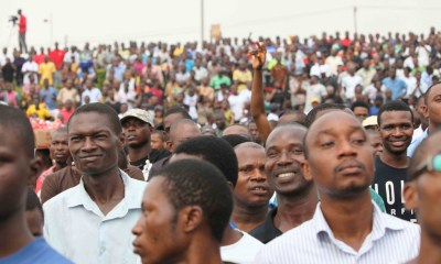 Cross section of Nigerians