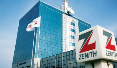 [Corporate Action] Zenith Bank PAT Rises 17% to N83 billion In Q3'2015