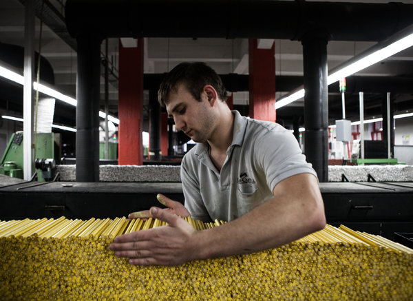 Pencil Production Factory Source: NY Times
