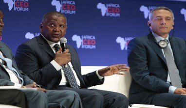"Dangote Group  Is ""Company Of The Year"" At  Africa CEO Forum"