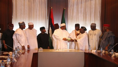 Buhari's Speech At The Signing Of The 2016 Budget